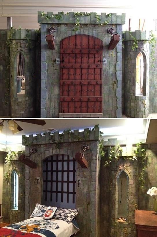 castle drawbridge murphy bed