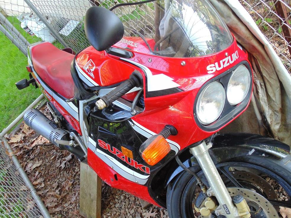 My first bike, 1986 Suzuki GSXR 750